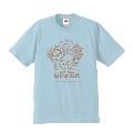 ぼのちゃん × TOWER RECORDS CAFE T-shirt ライトブルー XLサイズ