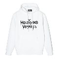 Hollywood Vampires Logo Print Sweat Hoodie White SIZE L