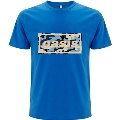 Oasis CAMO&LOGO T-shirt BLUE/Sサイズ