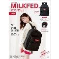 mini特別編集 MILKFED. SPECIAL BOOK Big Pocket Backpack #RED
