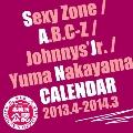 Sexy Zone/A.B.C-Z/ジャニーズJr./中山優馬 カレンダー 2013.4-2014.3