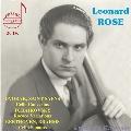 Leonard Rose plays Dvorak, Tchaikovsky, Beethoven & Saint-Saens