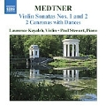 Medtner: Complete Works for Violin and Piano Vol.2 / Laurence Kayaleh(vn), Paul  Stewart(p)