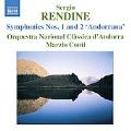 Rendine: Symphonies 1& 2 / Marzio Conti(cond), Andorra National Chamber Orchestra