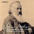ブラームス:ヴァイオリンとピアノのための5つのソナタ第1集