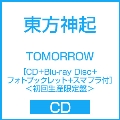 TOMORROW [CD+Blu-ray Disc+フォトブックレット+スマプラ付]<初回生産限定盤>