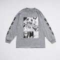 少年イン・ザ・フッド × WEARTHEMUSIC L/S T-shirt(Heather Gray)XLサイズ