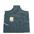 COOKMAN Long Apron Hickory NAVY F