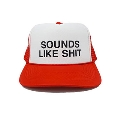 SOUNDS LIKE SHIT メッシュCAP RED