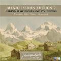 Mendelssohn Edition Vol.2 - String Symphonies & Concertos