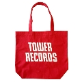 TOWER RECORDS トートバッグ Ver.2 レッド