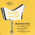 ベートーヴェン~弦楽四重奏曲第1番・第2番・第3番