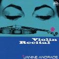 アンドラード:ヴァイオリン・リサイタル