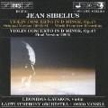 シベリウス:ヴァイオリン協奏曲(1903/04年オリジナル版)&(1905年現行版)