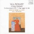 CREST 1000(475) モーツァルト: 弦楽五重奏曲第1番&第6番 / クイケン四重奏団, 寺神戸亮