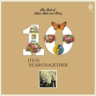 Peter, Paul & Mary/The Best Of Peter, Paul & Mary: Ten Years Together (Orange Yellow Mix Vinyl)[8122793800]
