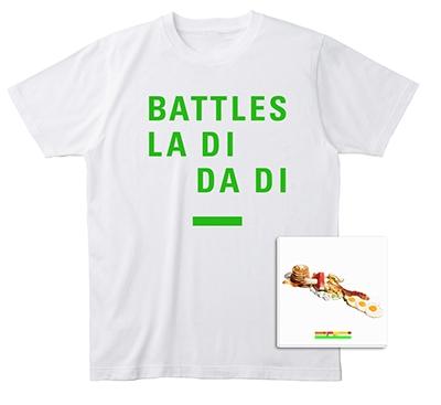 Battles/ラ・ディ・ダ・ディ [CD+Tシャツ(Sサイズ)] [BRC-480WTS]