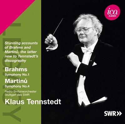 クラウス・テンシュテット/ブラームス: 交響曲第1番、マルティヌー: 交響曲第4番[ICAC5090]