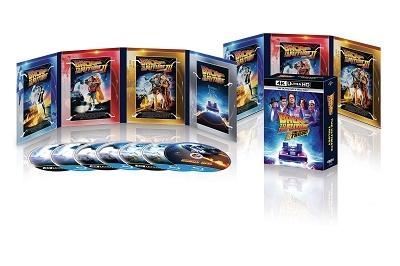【ワケあり特価】バック・トゥ・ザ・フューチャー トリロジー 35th アニバーサリー・エディション [4K Ultra HD Blu-ray x3+4Blu-ray Disc]