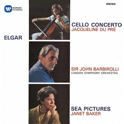 ジャクリーヌ・デュ・プレ/Elgar: Cello Concerto Op.85, Sea Pictures Op.37, Cockaigne Overture[2564607600]