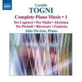 アルド・オルヴィエート/Camillo Togni: Complete Piano Music Vol.1 [8572990]