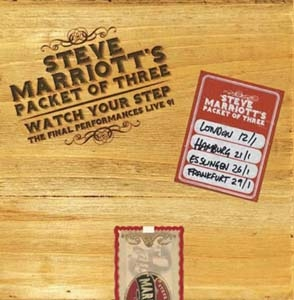 Steve Marriott's Packet Of Three/Watch Your Step - The Final Performances Live '91: 4CD Deluxe Boxset[CDLEMBOX232]
