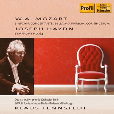 クラウス・テンシュテット/Mozart: Sinfonia Concertante K.Anh.104; Haydn: Symphony No.64, etc[PH10050]