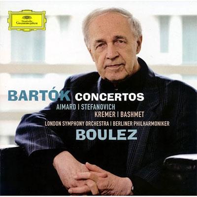 ピエール・ブーレーズ/Bartok: Concertos -Viola Concerto Op.post Sz.120, Violin Concerto No.1 Op.post Sz.36, Concerto for 2 Pianos, Percussion &Orchestra Sz.115[4777440]