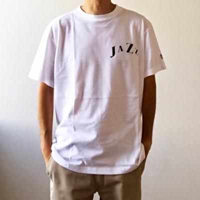 WTM_ジャンルT-Shirts JAZZ ホワイト Mサイズ[WTM-485]