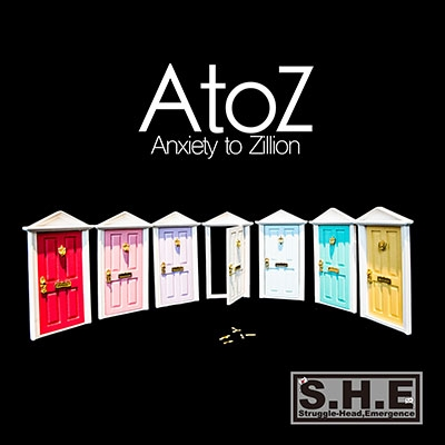 S.H.E (J-Pop)/A to Z -Anxiety to Zillion-[SHE104]