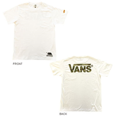 VANS×TOWER RECORDS FLYING CAMO Tee WHITE/XL Apparel