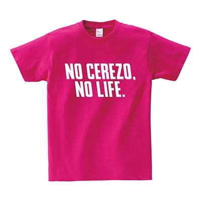 NO CEREZO, NO LIFE. 2020 T-shirts(ピンク) XLサイズ Apparel