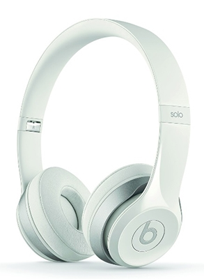 beats by dr.dre Solo2 オンイヤー・ヘッドフォン WHITE