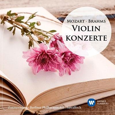 フランク・ペーター・ツィンマーマン/ブラームス、モーツァルト: ヴァイオリン協奏曲[9029545350]