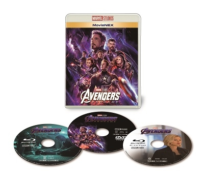 アンソニー・ルッソ/アベンジャーズ/エンドゲーム MovieNEX [Blu-ray Disc+DVD]<初回仕様版> [VWAS-6905X]