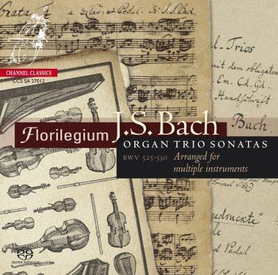 フロリレジウム/J.S.バッハ: 6つのトリオ・ソナタ BWV.525-530 (様々な楽器のための編曲版)<限定盤>[CHANNEL3020]