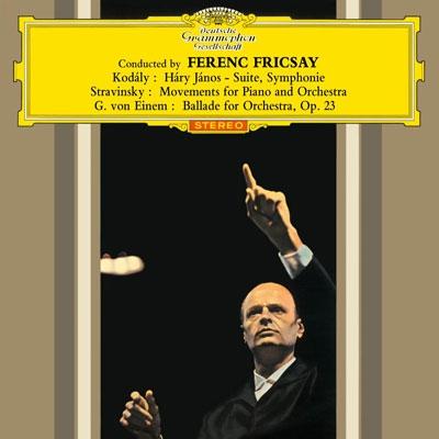 フェレンツ・フリッチャイ/コダーイ: ハーリ・ヤーノシュ, 交響曲, 他<タワーレコード限定>[PROC-1267]