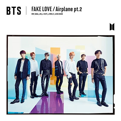 FAKE LOVE/Airplane pt.2 [CD+DVD]<初回限定盤A> 12cmCD Single