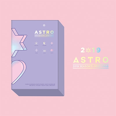 ASTRO 2019 SEASON'S GREETINGS SUNNYDAY Ver. [CALENDAR+GOODS]<タワーレコード限定発売> Book