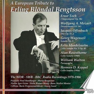 エアリング・ブレンダール・ベンクトソンへの捧げ物~ヨーロッパ放送局録音 (1978年-1986年)