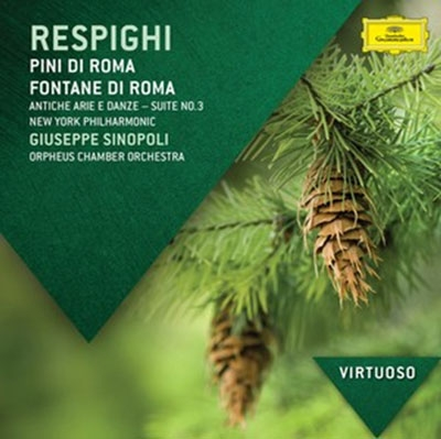ジュゼッペ・シノーポリ/Respighi: Pini di Roma, Fontane di Roma, Ancient Airs and Dances Suite No.3, etc[4785410]