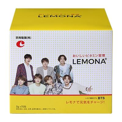 LEMONA×BTS ハート缶 (2g×70包) 食品