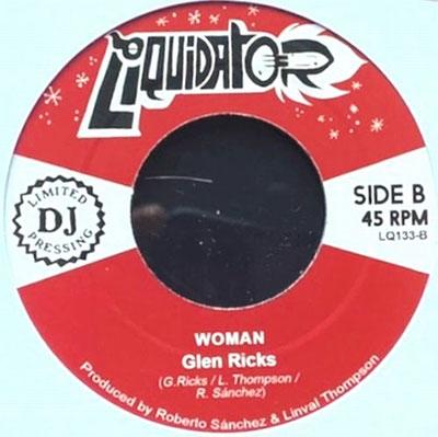 Glen Ricks/Time/Woman<限定盤>[LQ133]