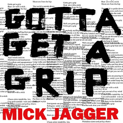 Mick Jagger/Gotta Get A Grip/England Lost (Limited Edition)<限定盤>[5781000]