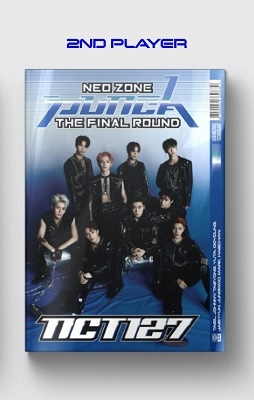 NCT#127 Neo Zone: The Final Round: NCT 127 Vol.2 (Repackage)(2nd Player Ver.) CD