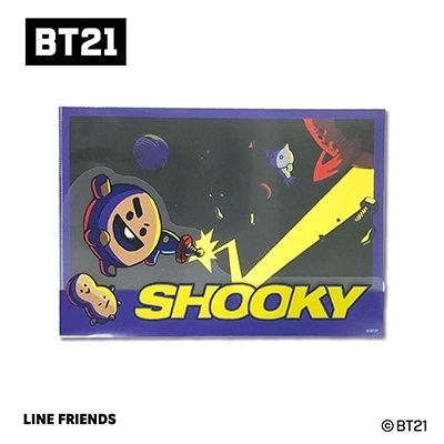 BT21 ダイカットクリアファイル Vol.3/SHOOKY Accessories
