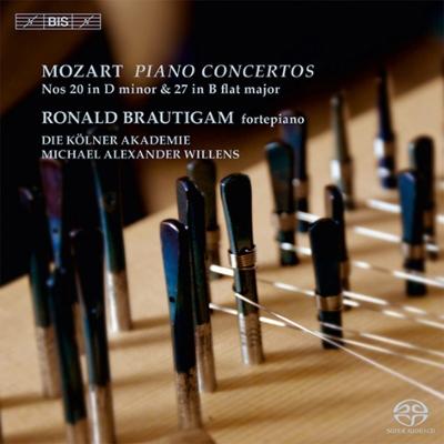 ロナルド・ブラウティハム/モーツァルト: ピアノ協奏曲集第5集 - 第20番, 第27番 [KKC5684]