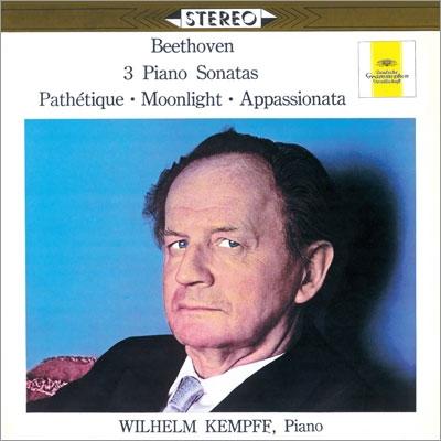 ヴィルヘルム・ケンプ/ベートーヴェン: ピアノ・ソナタ《悲愴》《月光》《熱情》<タワーレコード限定>[PROC-1069]