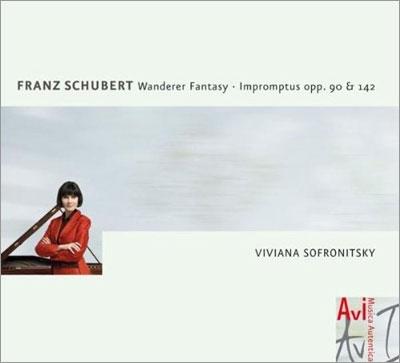 ヴィヴィアナ・ソフロニツキー/Schubert: Wanderer Fantasie Op.15, Impromptus Op.Posth.142, Op.90[4260085532506]