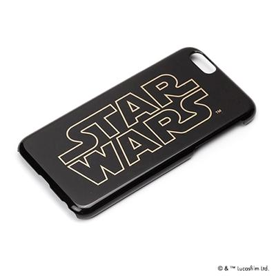 STARWARS iPhone 6用 ハードケース 金箔押し ロゴ [PG-DCS920SW]